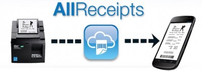 All Receipts Digital Receipts solution