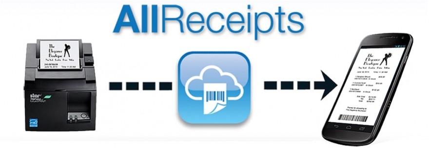 All Receipts Digital Receipts solution