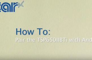 <h4>TSP654/650II BLUETOOTH</h4> <p> How To: Pair with Android </p>