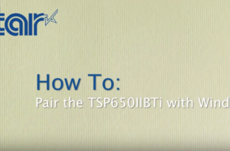<h4>TSP654/650II Bluetooth</h4> <p> How To: Pair with Windows </p>