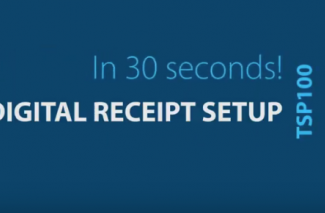 <h4>Digital Receipts</h4> <p>Setup in under 30 seconds</p>